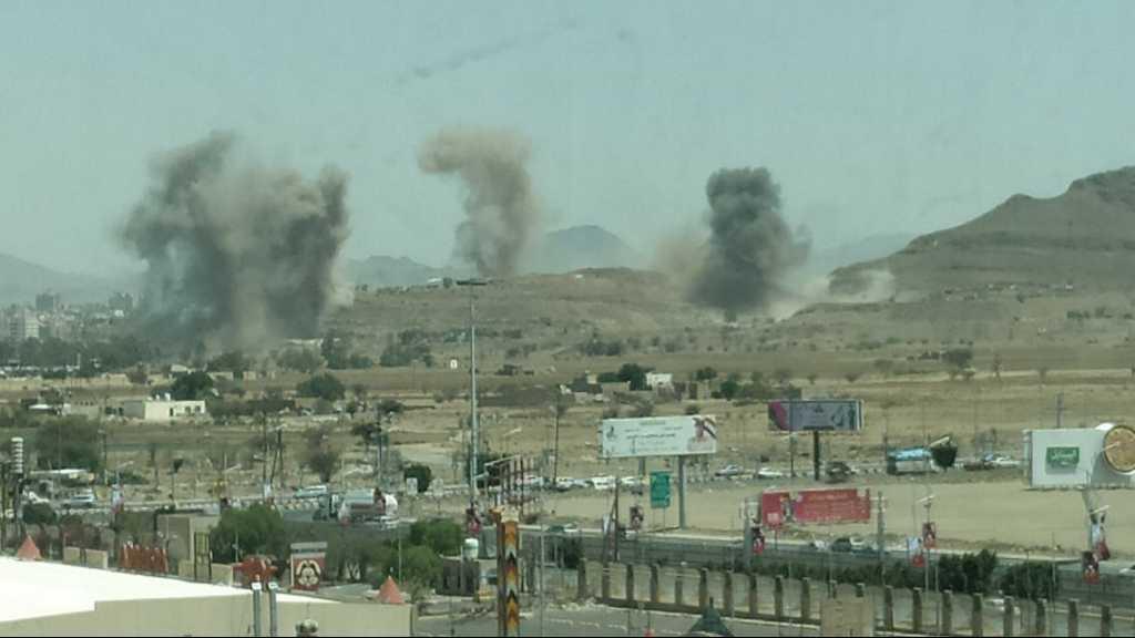 Saudi Warplanes Bomb Sanaa