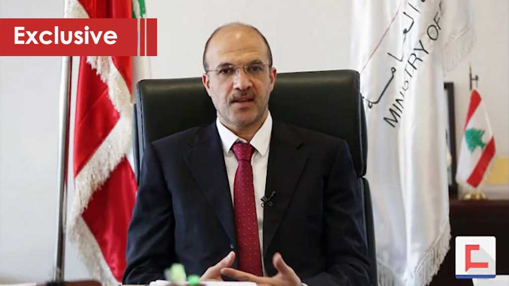 Lebanon's Health Minister to Al-Ahed: Number of Coronavirus Cases Won't Rise Due To Returning Expats