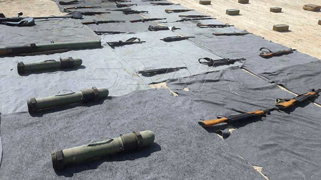 Syria Seizes Western, US-made Weapons in Damascus, Quneitra Countryside