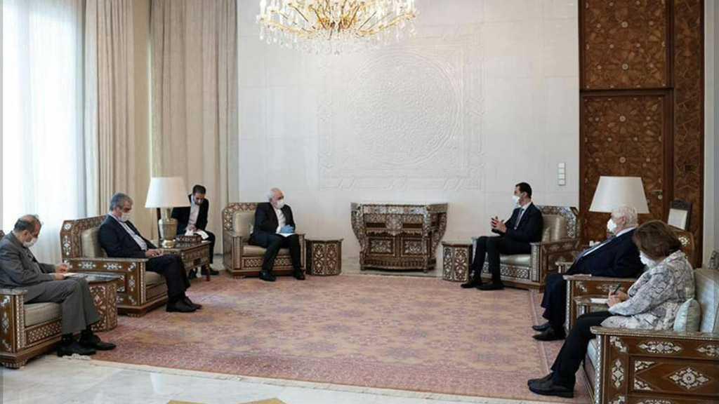 Al-Assad-Zarif Meeting: COVID-19 Pandemic Shows West's Failure, Immorality