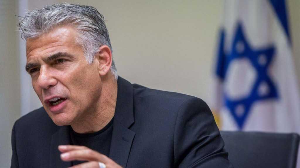 Lapid Slams Gantz in TV Address, Vows To Fight 'Israeli' Government