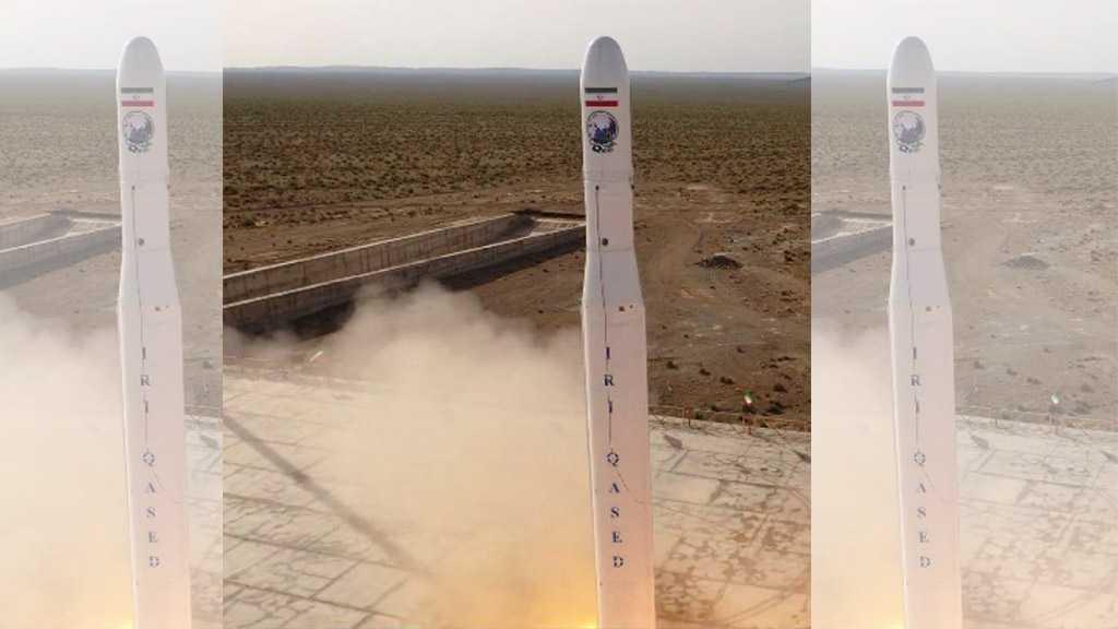 IRGC Shoots Iran's First Military Satellite into Orbit