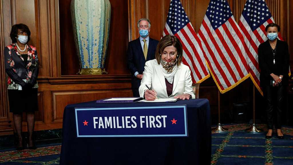 US House Passes $484 Bln COVID-19 Relief Bill, Trump to Sign
