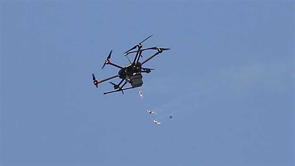 Hamas Captures 'Israeli' Military Drone Flying Over Gaza