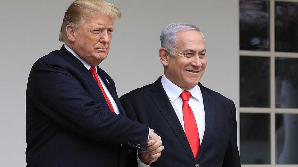 """""""Deal of Century"""" into Effect: US Ready to Recognize ''Israeli' Sovereignty'"""