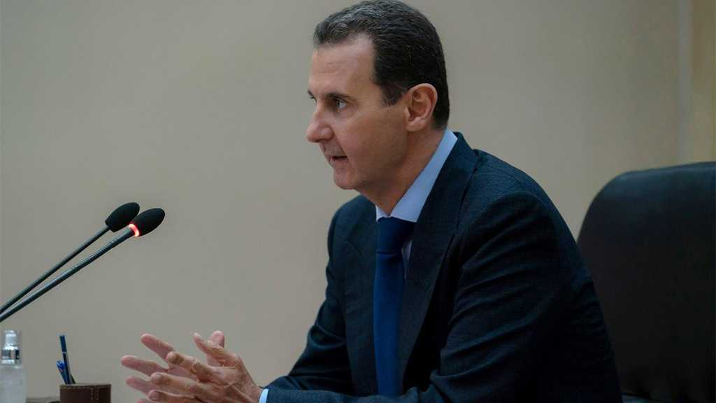 Assad: Syria Facing Unjust Embargo, Economic Challenge in Its Fight against Pandemic
