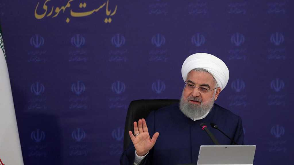 Rouhani Hails Iranian Workers' Steadfastness amid Sanctions