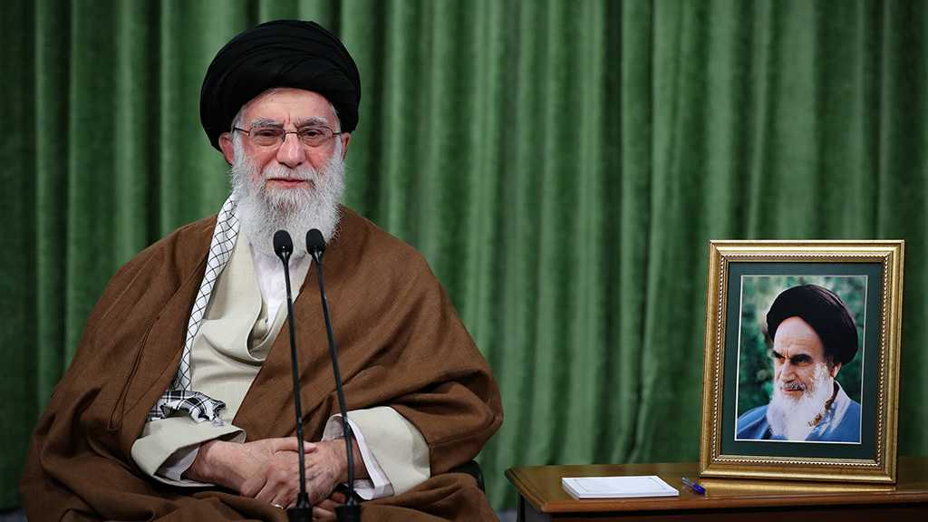 Imam Khamenei: There Is No Crime Equivalent to the Theft of Palestine, Cultivation of Cancerous Zionist Gland
