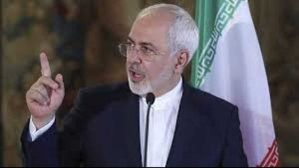 Zarif to US, Europe: Palestinians Shouldn't Pay for your Crimes