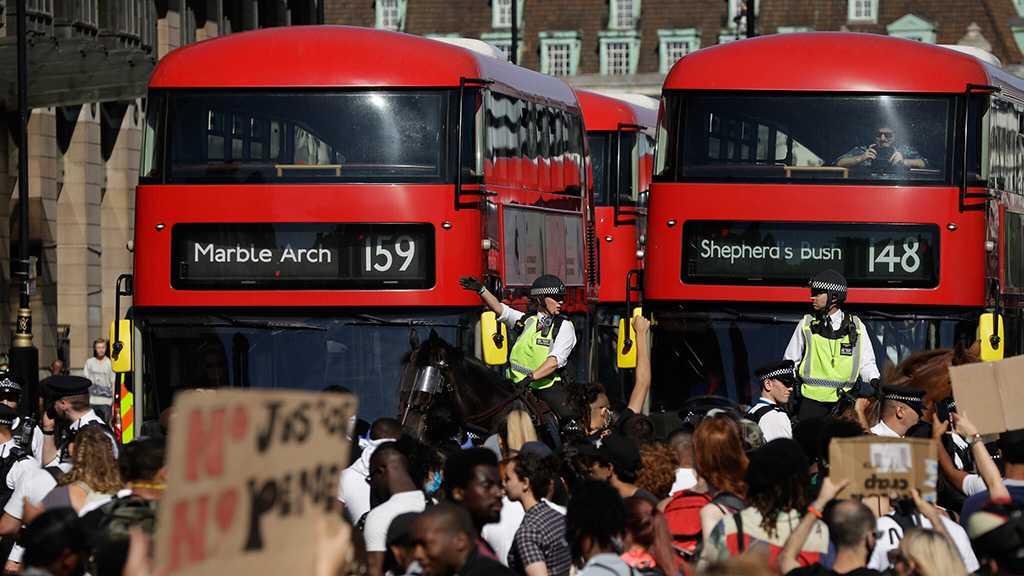 UK Protesters Accuse Police of Targeting Black People during Lockdown