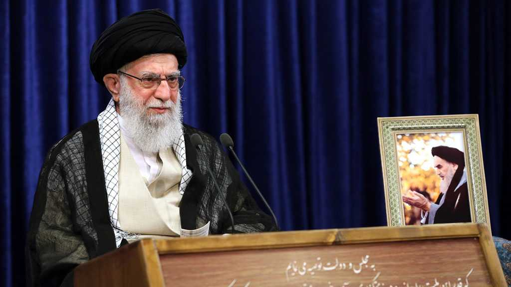 Imam Khamenei Says Imam Khomeini's Revolution Proved Superpowers Can Be Broken, Urges Pursuing His Track to Change