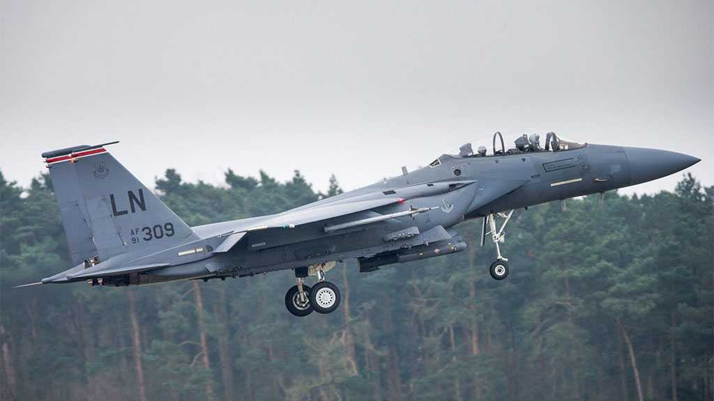 US Fighter Plane Crashes Off Coast Of Northeast England
