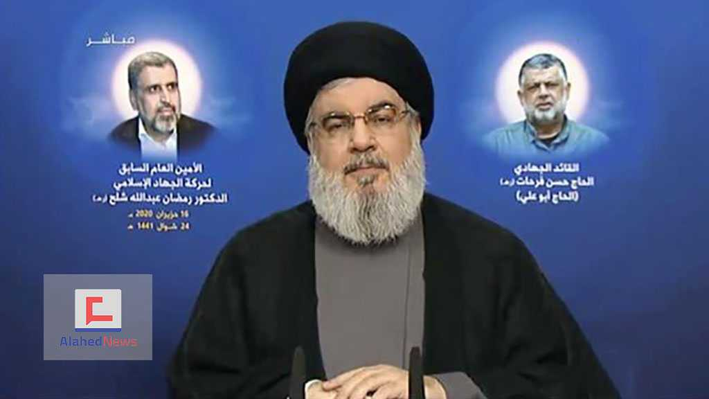 Sayyed Nasrallah: We Won't Disarm, We Won't Starve, and We Will Kill You!