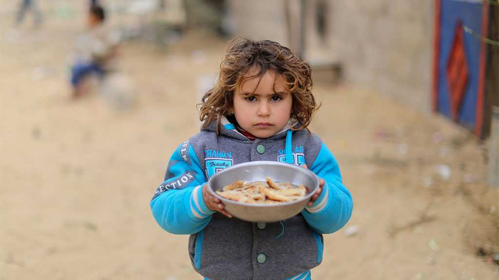 'Israeli' Blockade Causes Food Shortages for One Million Palestinians in Gaza