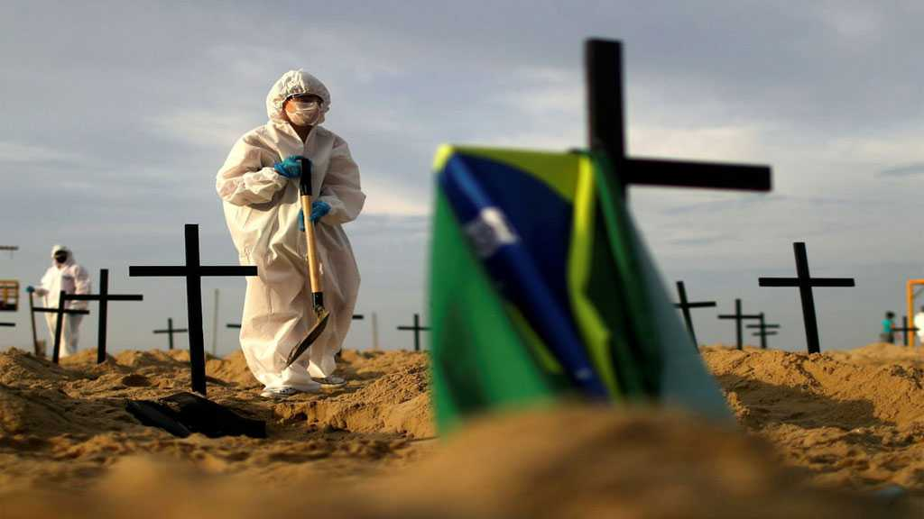 Brazil Records Second Highest Daily Death Toll