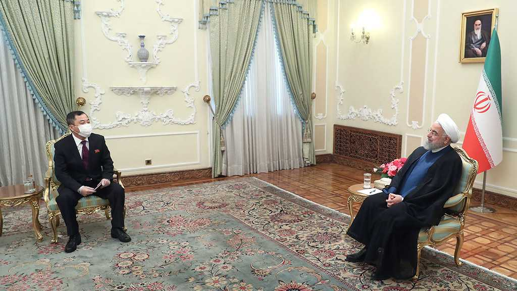 Rouhani: Iran, North Korea Need to Stand Strong against US As Common Enemy