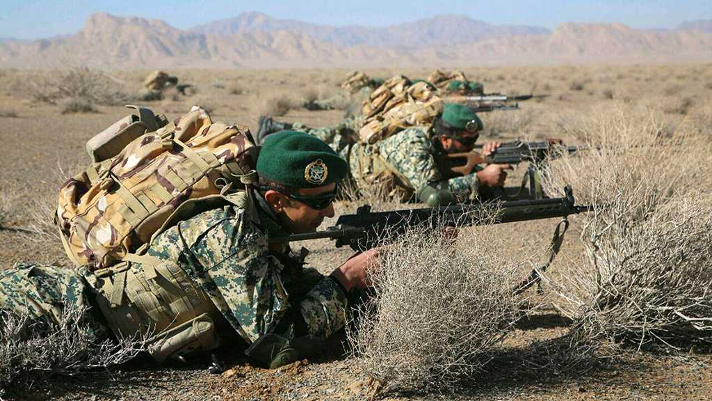 IRGC Destroys Terrorists' Positions during Drill along Western Borders