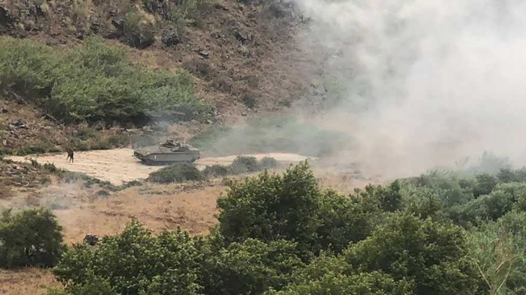 'Israeli' Troop Carriers Breach Technical Fence near Al-Wazzani River, South Lebanon