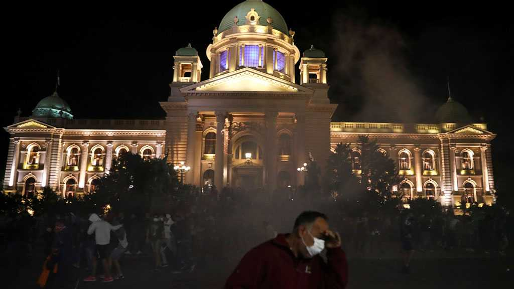 Massive Protests Rock Serbian Capital after Announcing New Covid-19 Lockdown