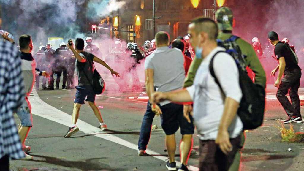 """Israel"" Meddling in Serbia, Fueling Unrest"