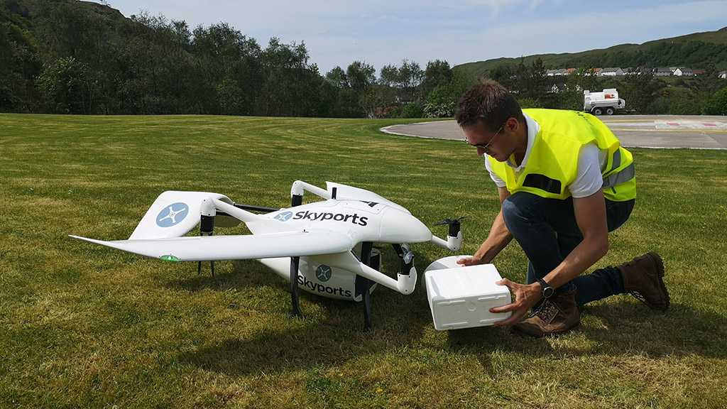 UK Will Use Drones to Deliver Coronavirus Tests to Remote Scottish Islands