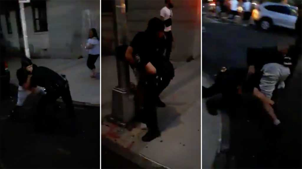 NY Mayor Calls for Unity after Viral Video Shows Man Putting Bronx Cop in Headlock