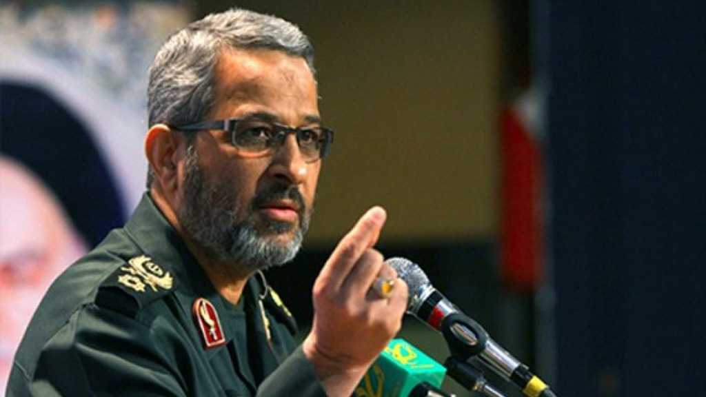 "IRGC Cmdr. Underlines ""Israel"" Failures in All Arenas"