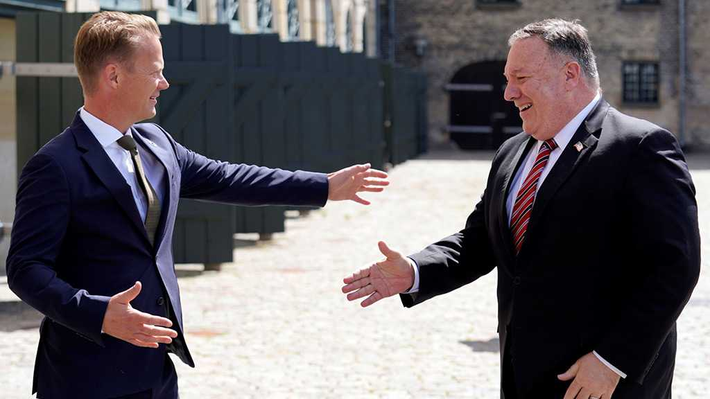 Pompeo's Handshake Gets Rejected in Denmark