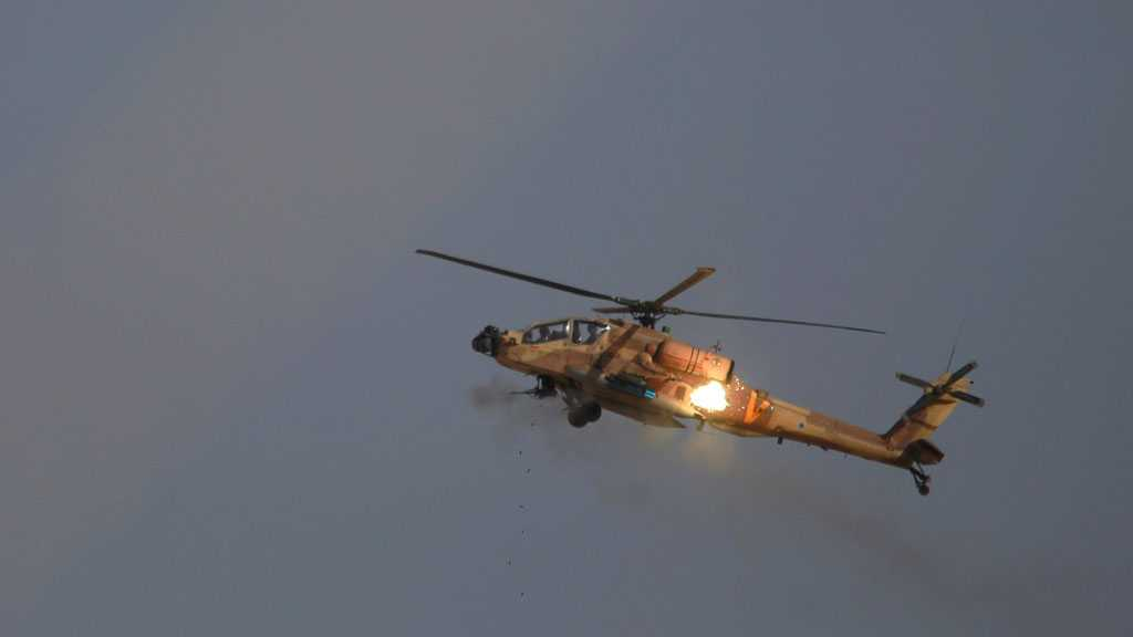 'Israeli' Helicopters Attack Syria's Quneitra