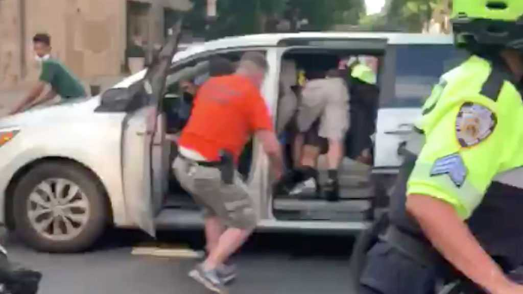 Outcry In New York After Police Force Protester into Unmarked Van