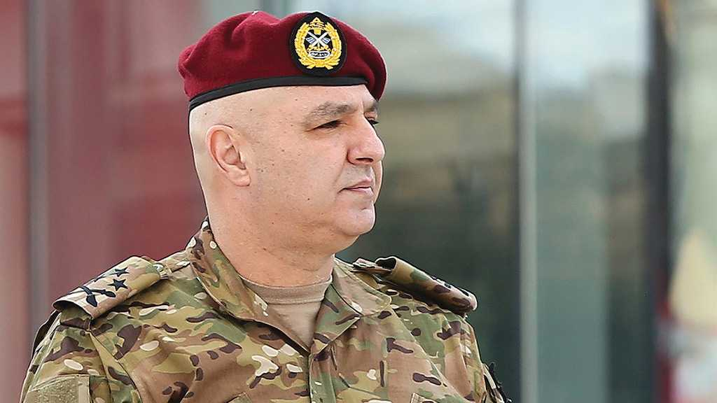 "Army Chief: ""Israeli"" Threat against Lebanon, Terrorism, Must Not be Underestimated"