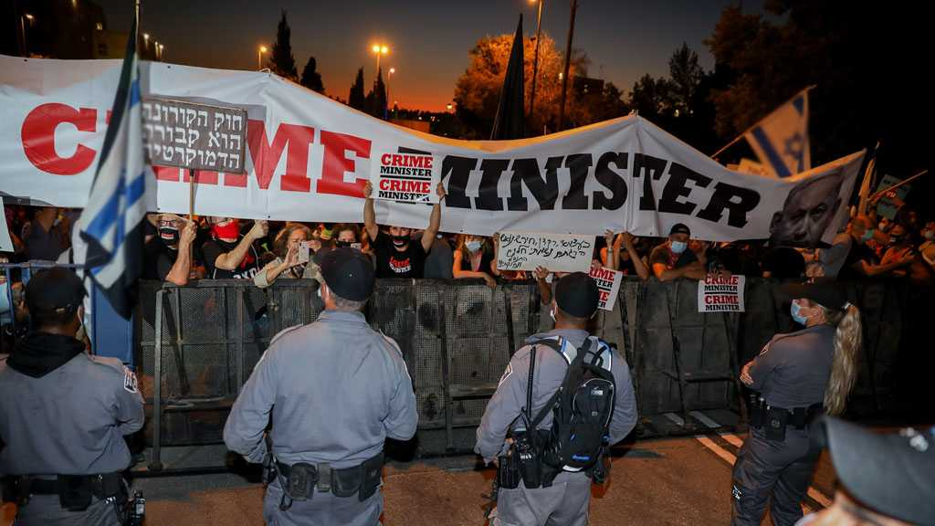 'Israel' Rocked by Chaos, Anti-Netanyahu Protests