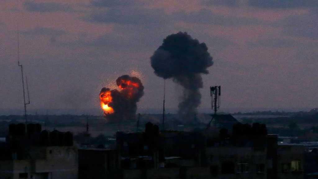 'Israeli' Warplanes Bomb Gaza