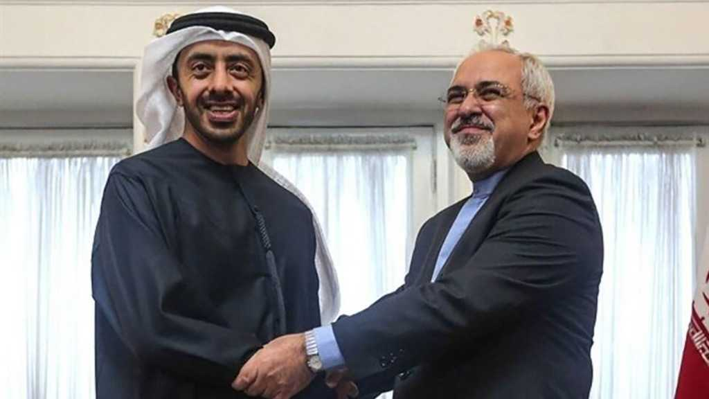 Iran, UAE FMs Discuss COVID-19 Crisis, Regional Developments