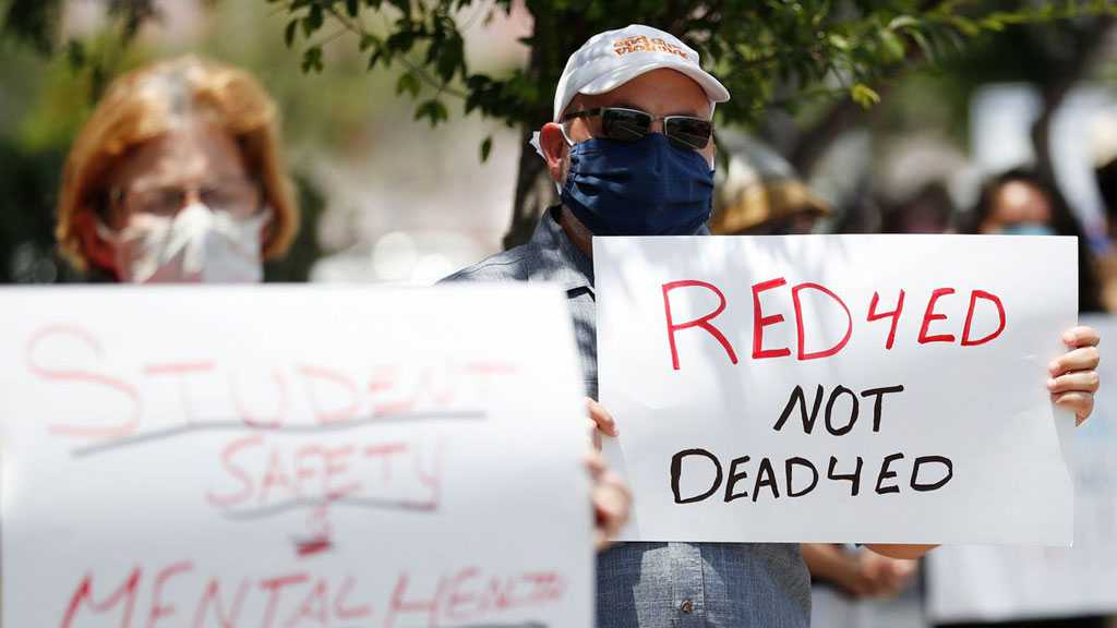 US Teachers Protest School Reopening as Virus Deaths Pass 155k