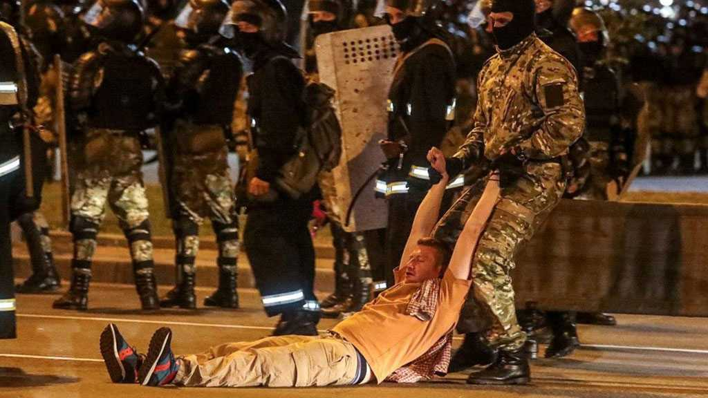 Belarus: Violent Clashes with Riot Police as Protesters Rally Over Projected Lukashenko Landslide Victory