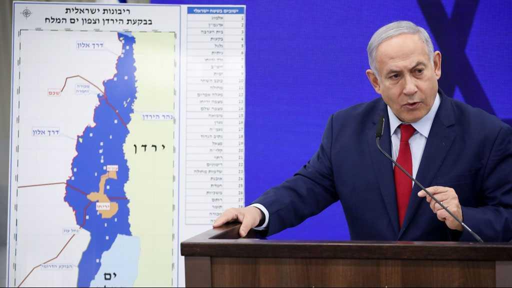 Netanyahu Blames Washington For Stalled West Bank Annexation