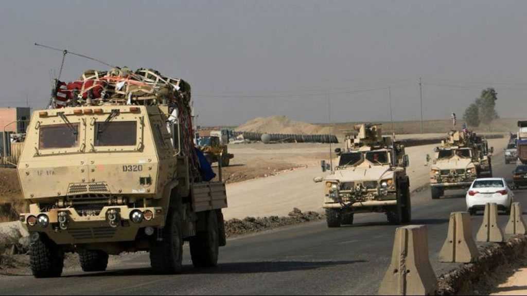 Convoy Carrying Military Equipment for US Attacked on Iraq-Kuwait Border