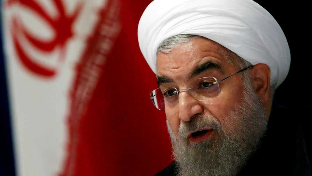 Rouhani Says Iran's Enemies Unable to Halt Its Progress