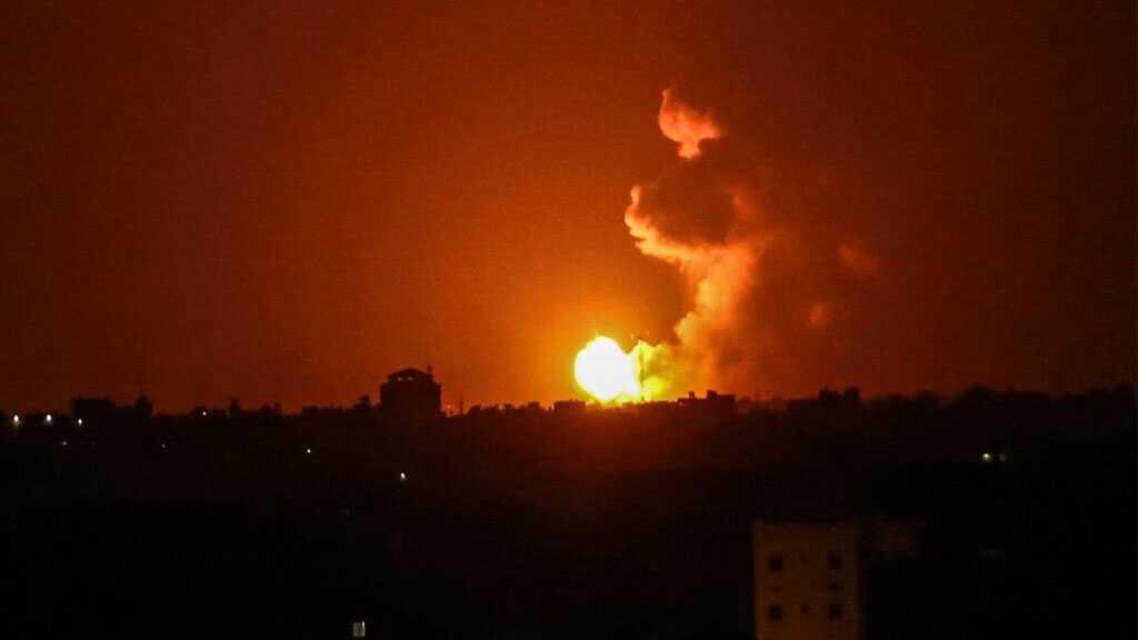 'Israeli' Military Bombs, Attacks Gaza Strip