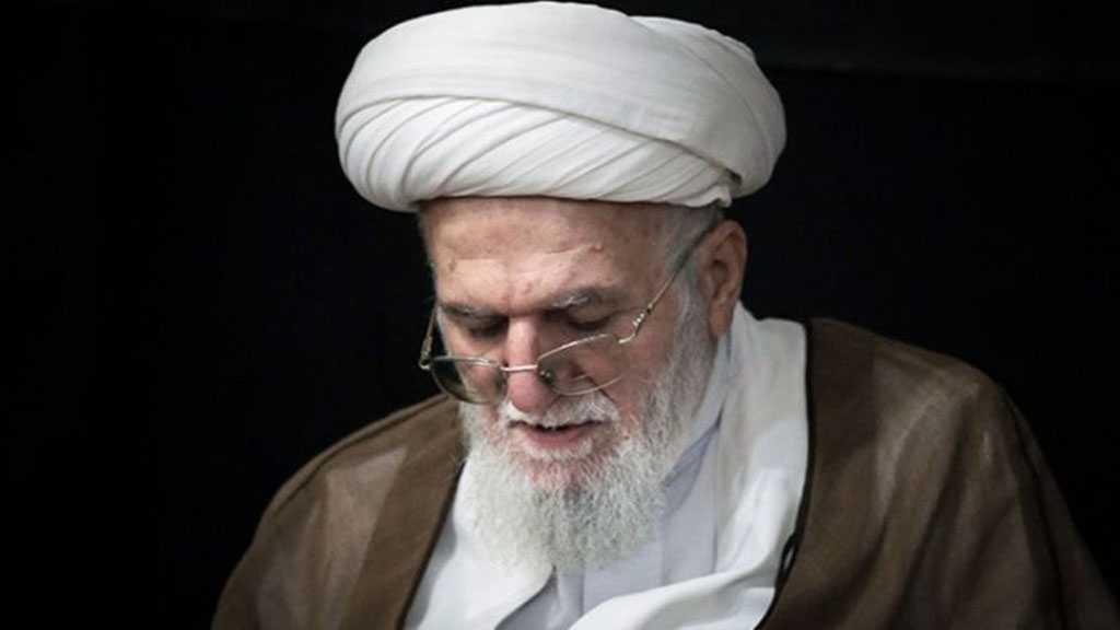 Hezbollah Condoles Ayatollah Taskhiri's Demise: He Had Been a Symbol of Hardworking Scholar, Icon of Resistance