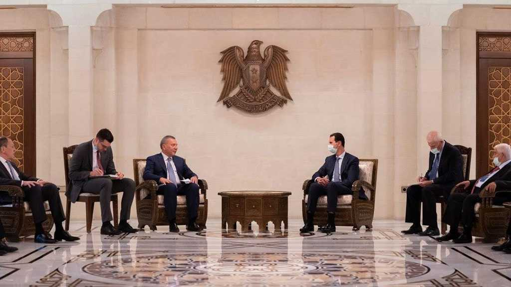 Assad Receives Russian Delegation, Two Parties Affirm Joint Will To Develop Bilateral Cooperation