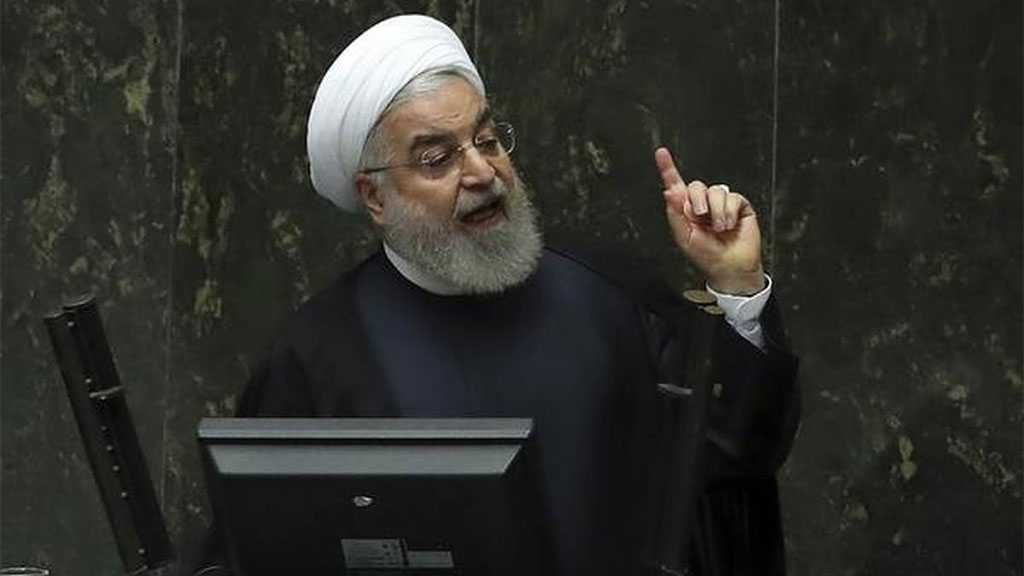 Rouhani: Iran Not To Surrender to Bullying, EU must Act against US Economic Terrorism