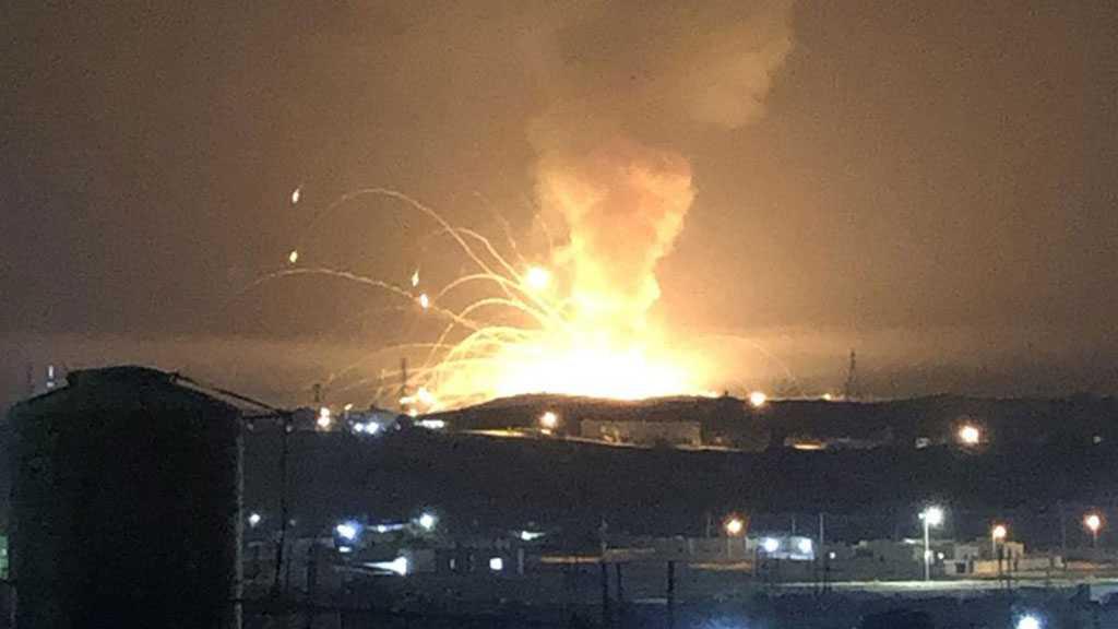 Short Circuit Causes Arms Depot Explosion in Jordan