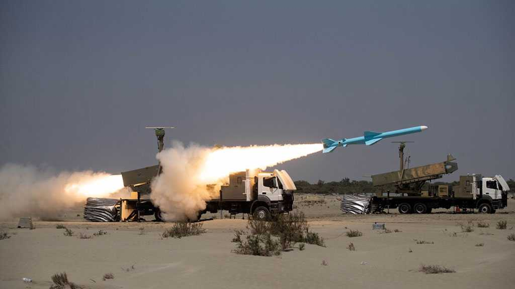 """Iran Successfully Fires """"Ghader"""" Missile in Zolfaghar-99 War Game"""