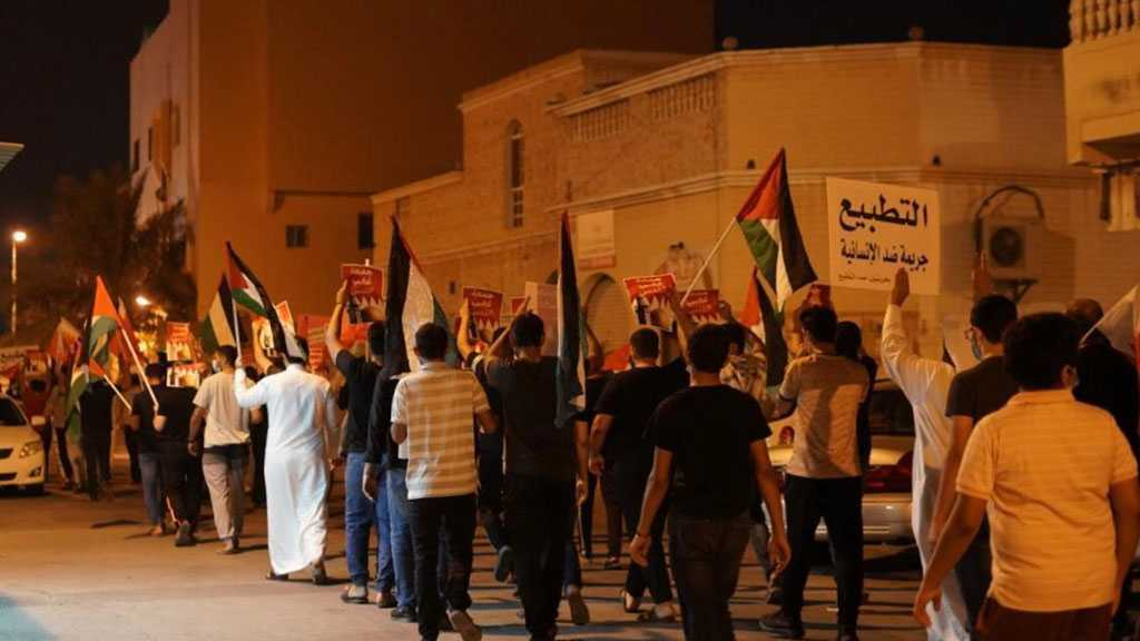 Bahrainis Continue Popular Protests against Normalization with 'Israel'
