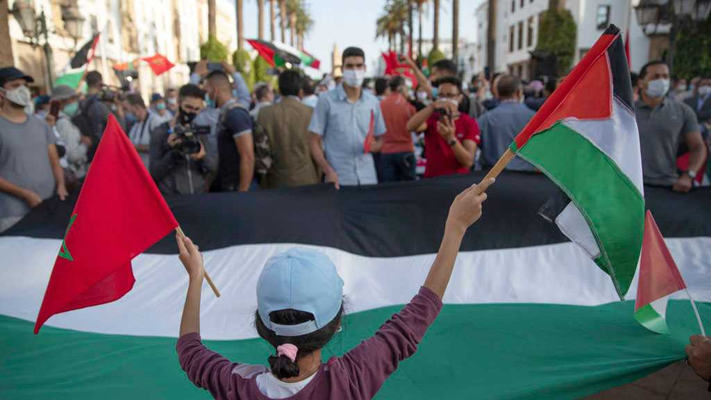 Moroccans Protest Arab Nations Normalizing Ties with 'Israel'
