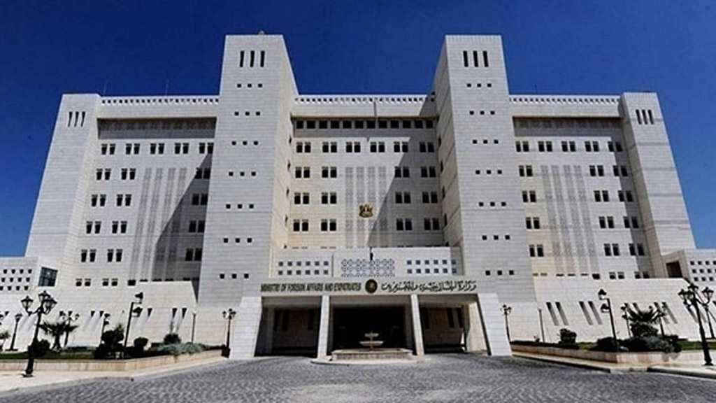 Syria Foreign Ministry: Netherlands Gov't Is the Last One with Right to Talk About Human Rights