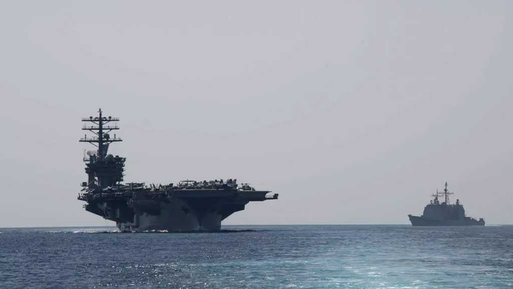 USS Nimitz Aircraft Carrier Enters Gulf After Pompeo's Anti-Iran Threats