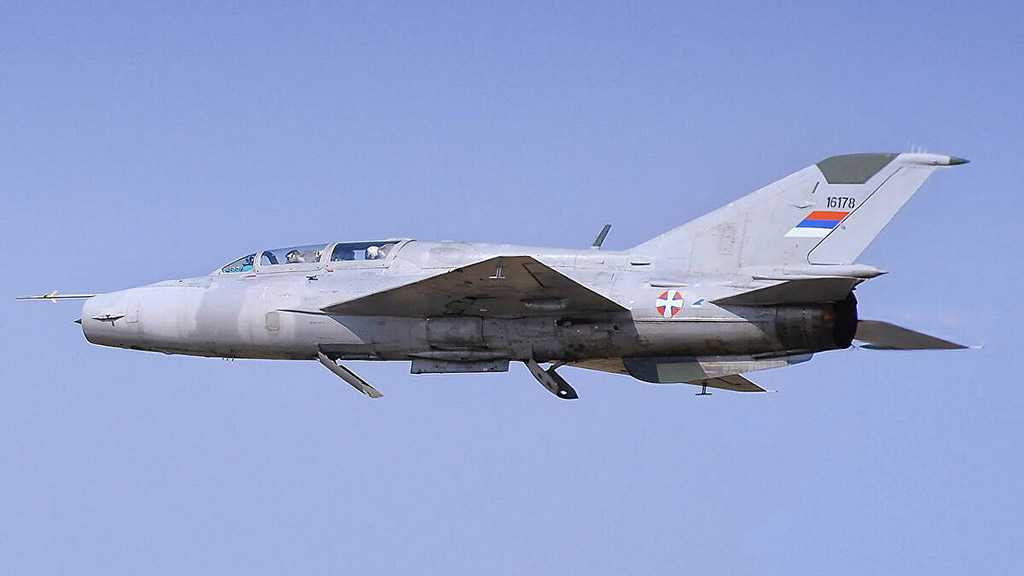 Serbian Air Force's MiG-21 Crashes in Country's West